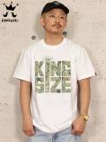 "KINGSIZE(キングサイズ) ""WEED BLUNT TEE"""