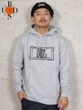"BUDS(バッズ)""RECTANGLE LOGO HOODIE"""