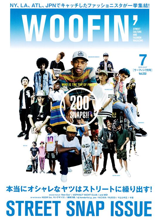 [PRESS] WOOFIN' 2015年7月号